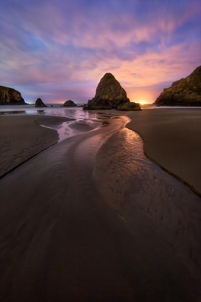 Photo of whaleshead beach along the Oregon Coast