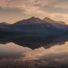 Dawn at Lake McDonald