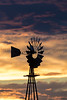 Windmill at Sunset<br /> New Mexico