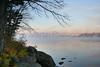 Morning Fog on the Lake.<br /> Upstate New York