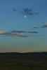 Moonrise over Sage.<br /> Moffat County, Colorado.