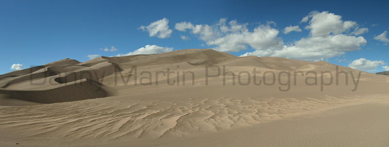 Great Sand Dunes<br /> San Luis Valley, Colorado.<br /> *(stitched panorama)