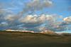 Where clouds meet Sheep Mountain.  Autumn sunrise in North Park, Colorado.