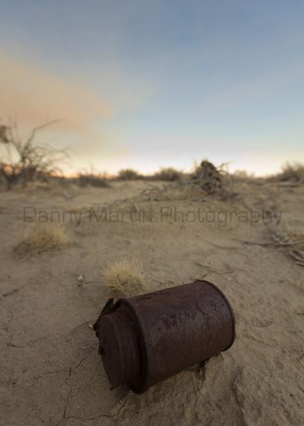 Rusty Can.  Anza-Borrego Desert State Park, California.