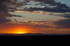 Sunset over the San Luis Valley<br /> Great Sand Dunes National Park, Colorado.