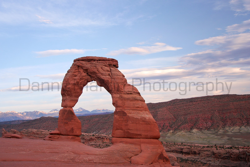 Delicate Arch.  Arches National Park, UT.