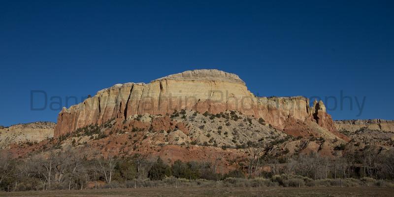 Mesa at Ghost Ranch.<br /> New Mexico.