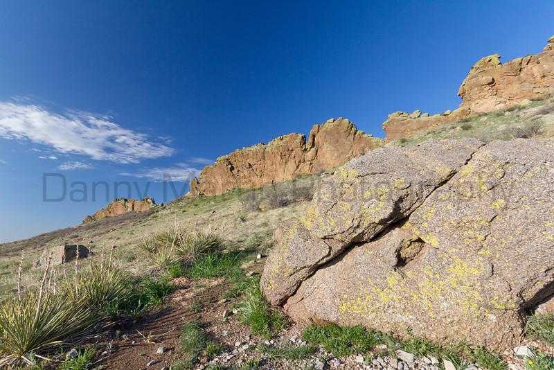 Devil's Backbone Open Space.<br /> Larimer County, Colorado.