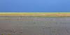 Distant storm and playa<br /> Rita Blanca National Grassland, Dallam County, Texas.