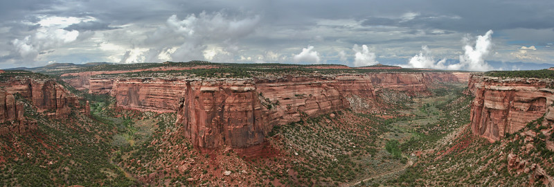 Colorado National Monument, near Grand Junction, Colorado.<br /> *Stitched Panorama