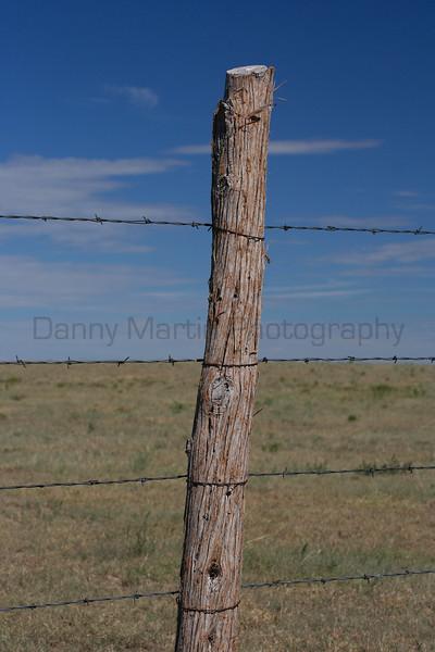 Don't Fence Me In, #2 - Colorado.  Comanche National Grassland, Otero County, Colorado.