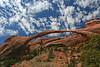 Landscape Arch.  Arches National Park, UT.