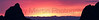 Sunset in Brewster County, Texas<br /> (panorama)