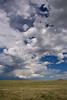 Rain up North.<br /> Pawnee National Grassland, Weld County, Colorado.