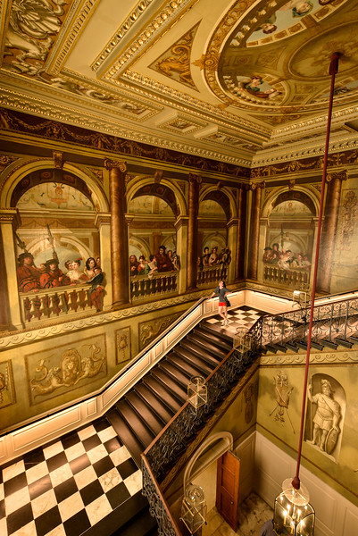 The Kings Staircase, Kensington Palace, London