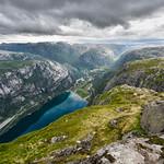 Lake Ringedalsvatnet, Odda, Norway