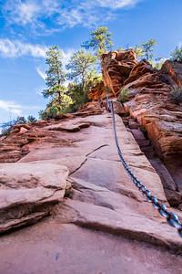 Zion NP Help for final climb 08