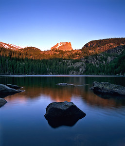 Bear Lake Alpenglow RMNP