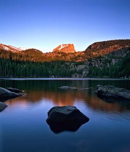 Bear Lake Alpenglow RMNP
