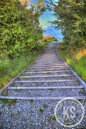 Queenstown, New Zealand, is one of my favorite places on earth. This beautiful staircase to Lake Wakatipu is seen on the Queenstown trail.