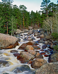 Big Thompson River in Rocky Mountain National Park