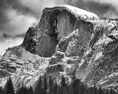 Half Dome, Winter, Yosemite National Park, California, 2000