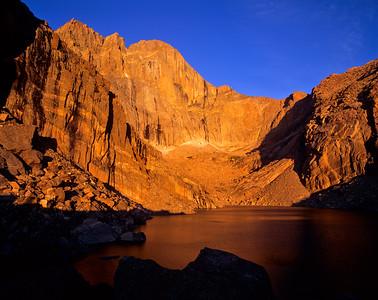 Chasm Lake Sunrise RMNP