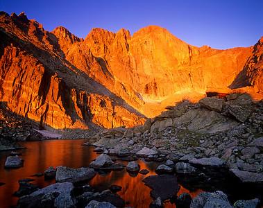 Chasm Lake Sunrise, RMNP