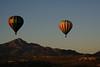 Hot Air Balloons over Tucson Mountains, Arizona