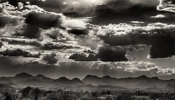 Clouds, Tucson, AZ 2014