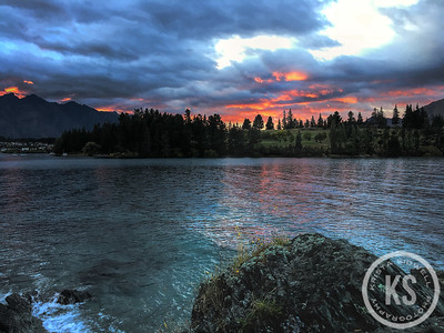 Sunrise on the Queenstown Trail