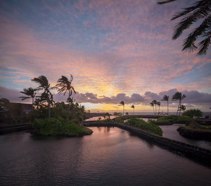Last Sunrise at the Lagoon House