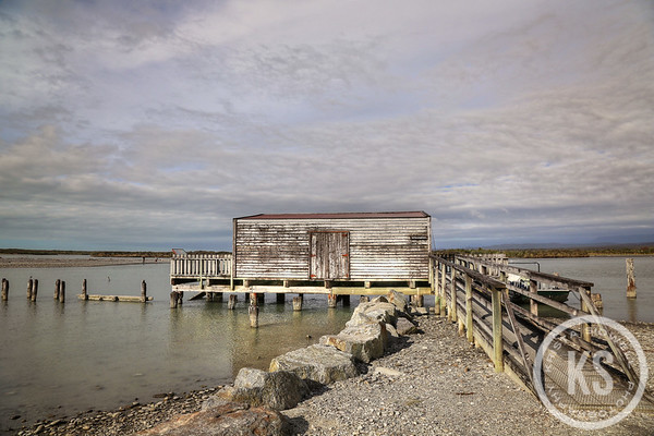 Okarito Lagoon Fishing House in New Zealand