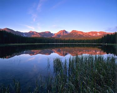 Bierstadt Lake Morning Reflection RMNP