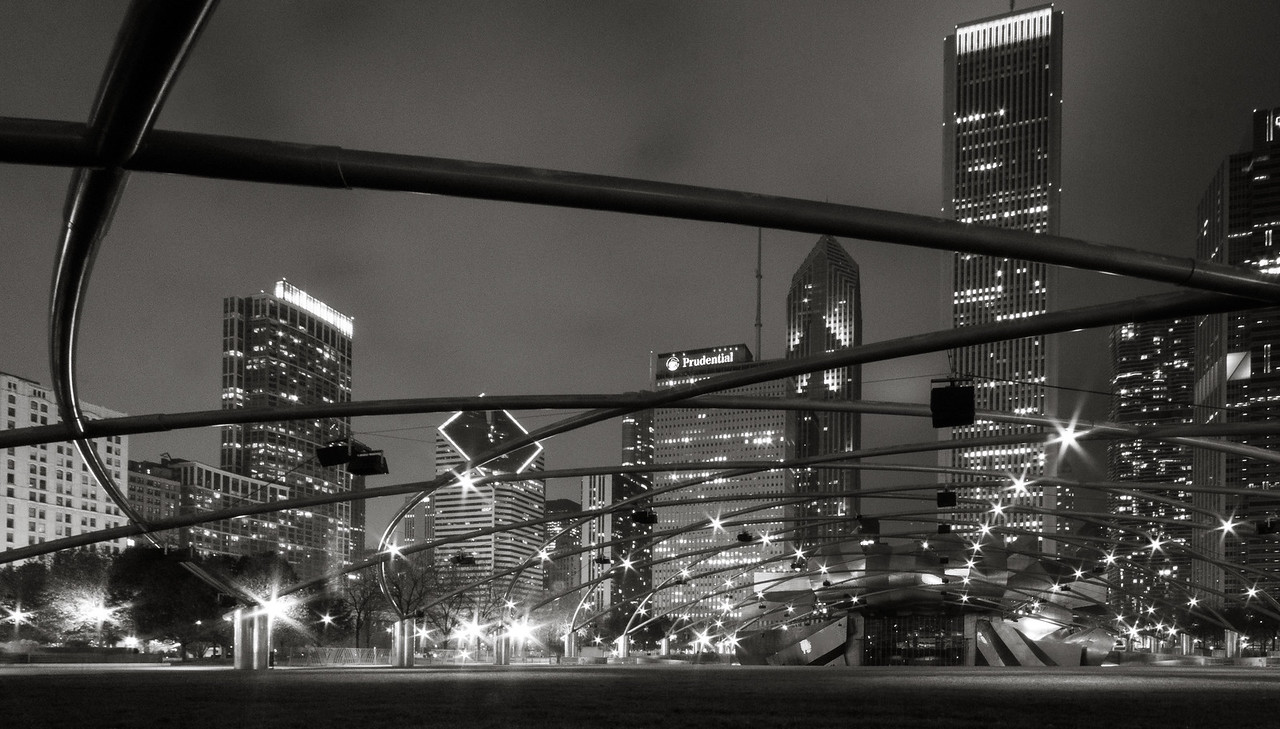 View from Jay Pritzker Pavilion