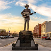 Hank Williams Statue in Montgomery