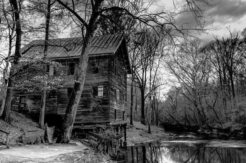 Kymulga Grist Mill BW