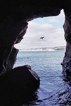 La Jolla Sea Cave.
