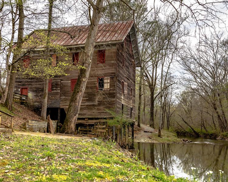 Kymulga Mill in Springtime 5X4