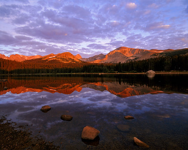 Brainard Lake Alpenglow