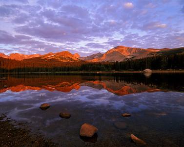 Brainard Lake Alpenglow