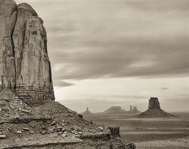 Evening, Monument Valley, Utah, 2008
