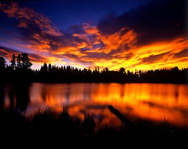 Sprague Lake Sunrise, RMNP