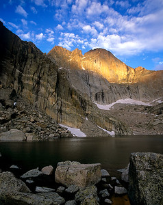 Chasm Lake Sunrise 2, RMNP