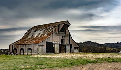 Feb. 22, 2015 - Pulaski, Tennessee- historic Phillips & Quarles barn