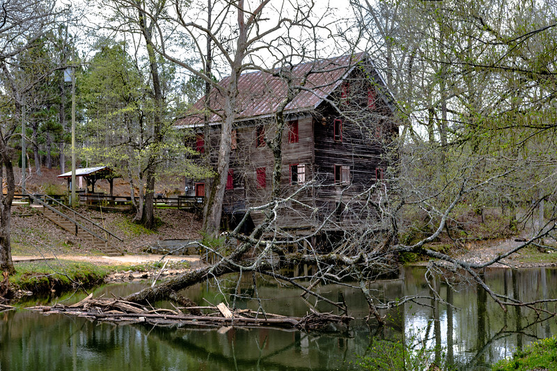 Kymulga Mill and Talladega Creek