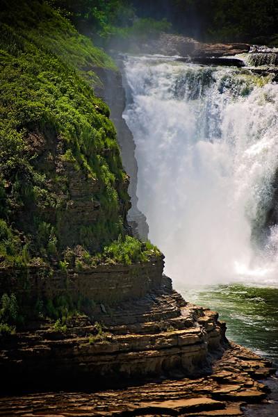 Letchworth State Park Upper Falls