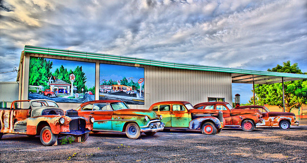 Old Cars in Delta, Colorado