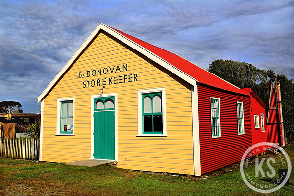 Donovan's Store, Okarito, New Zealand