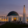 One of LA's most enduring icons, the Griffith Park Observatory, made famous in the 1955 James Dean classic, Rebel Without a Cause.